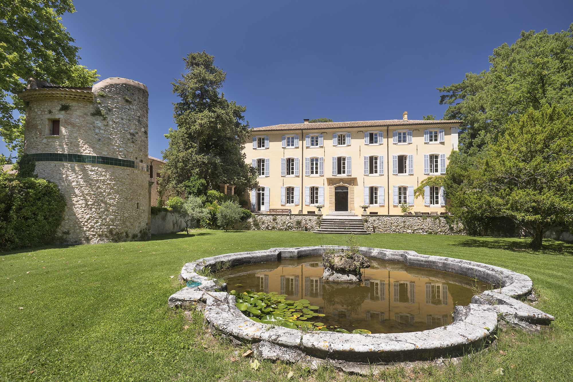 Stone Aix En Provence aix-en-provence 18th century country house | stone investment